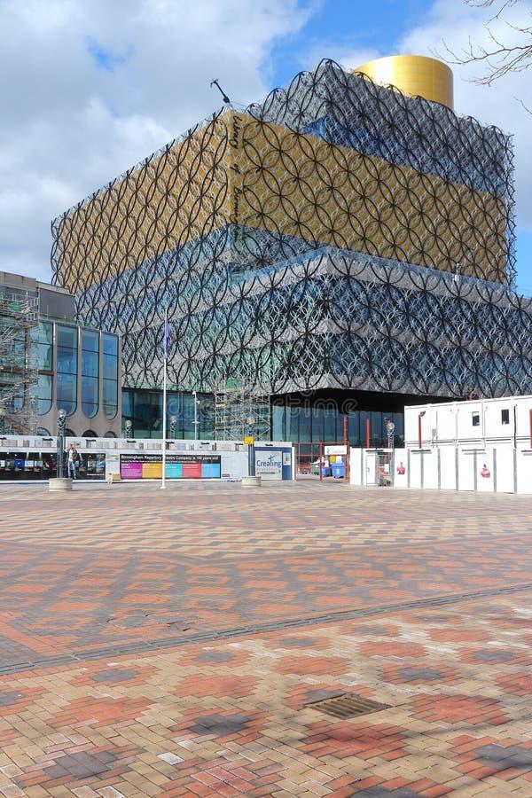 Biblioteca de Birmingham fotos de stock