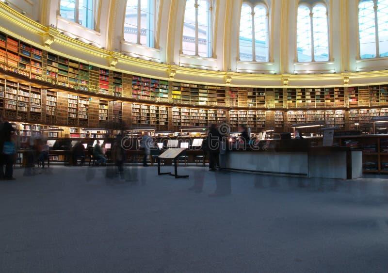 Biblioteca de British Museum foto de stock