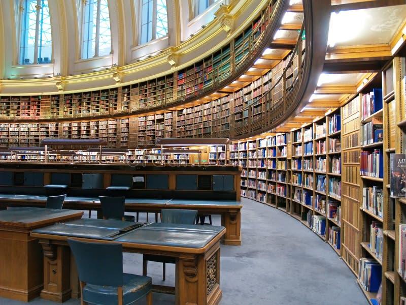 Biblioteca de British Museum imagem de stock royalty free