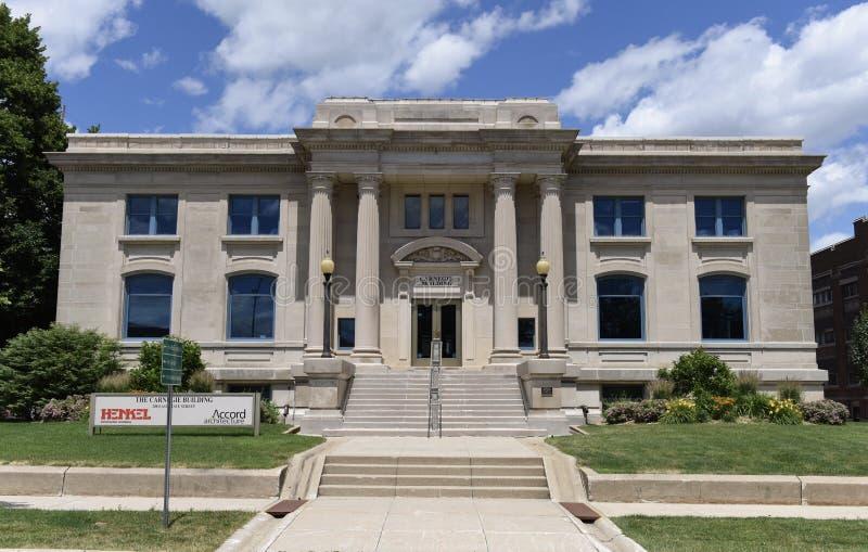 Biblioteca de Carnegie fotos de stock royalty free