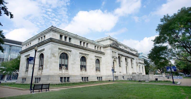 Biblioteca de Carnegie do Washington DC fotografia de stock