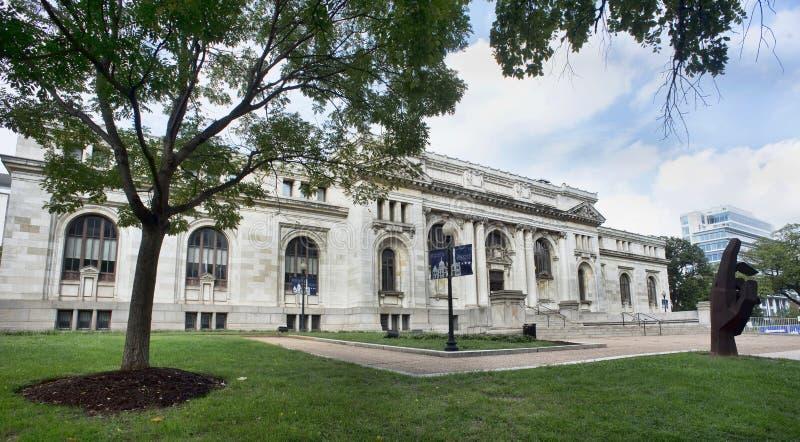 Biblioteca de Carnegie do Washington DC foto de stock