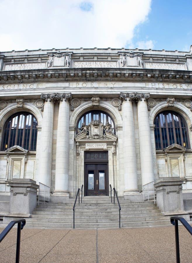 Biblioteca de Carnegie do Washington DC fotos de stock