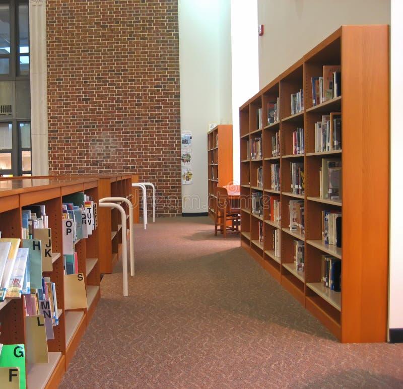 Biblioteca de escola 3 imagem de stock