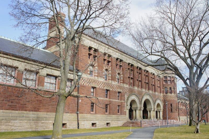 Biblioteca de Grossman de la Universidad de Harvard imagen de archivo libre de regalías