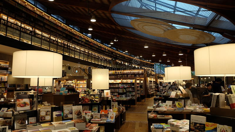Biblioteca de Japón fotografía de archivo