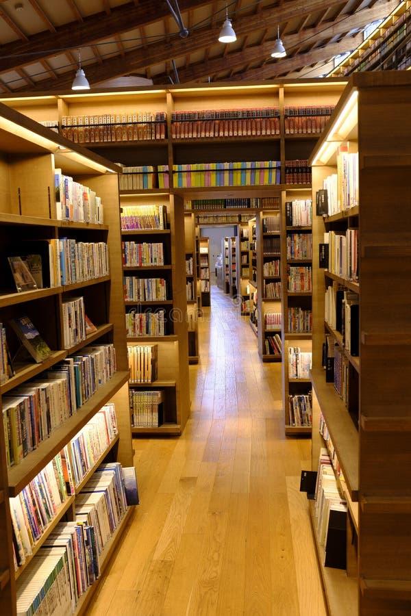 BIBLIOTECA DE LA CIUDAD DE TAKEO foto de archivo