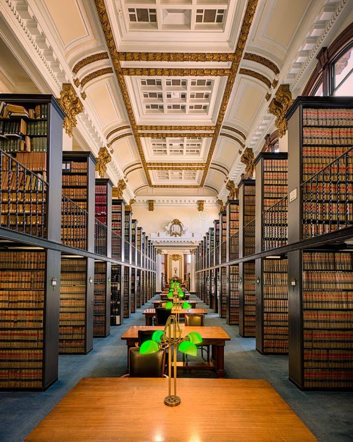 Biblioteca de lei estadual de Missouri imagem de stock royalty free