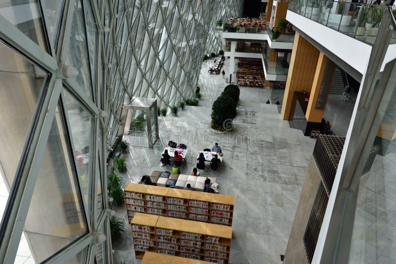 Biblioteca de Shenzhen de China fotos de archivo