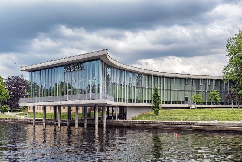 Biblioteca de universidad de Halmstad imágenes de archivo libres de regalías