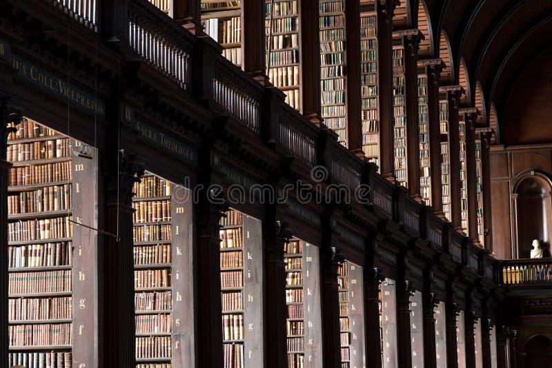 Biblioteca de universidad de la trinidad imágenes de archivo libres de regalías