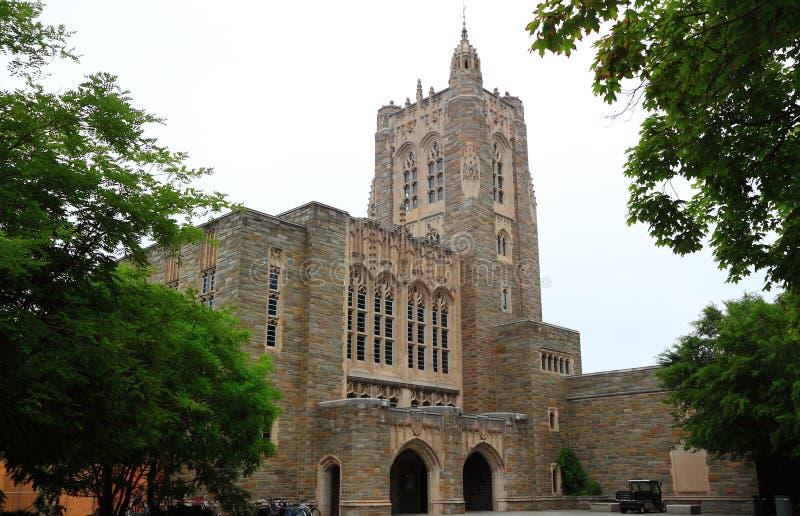 Biblioteca de Universidad de Princeton fotografía de archivo libre de regalías