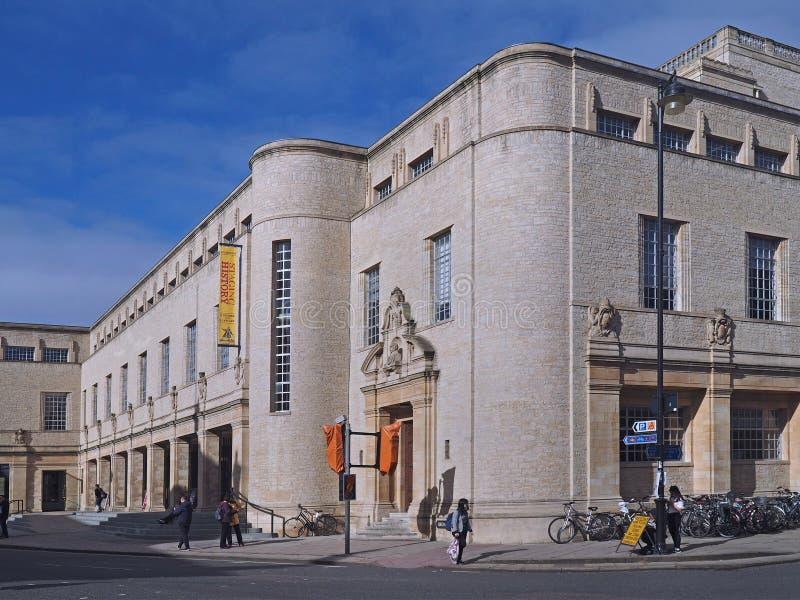 Biblioteca de universidade de Oxford nova imagens de stock royalty free