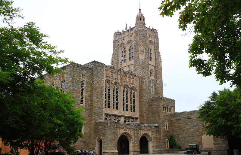 Biblioteca de Universidade de Princeton fotografia de stock royalty free