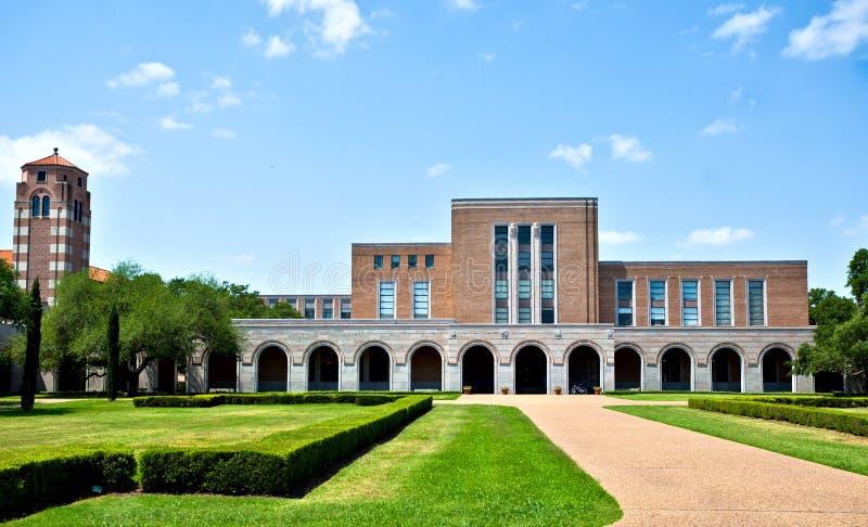 Biblioteca del campus imágenes de archivo libres de regalías