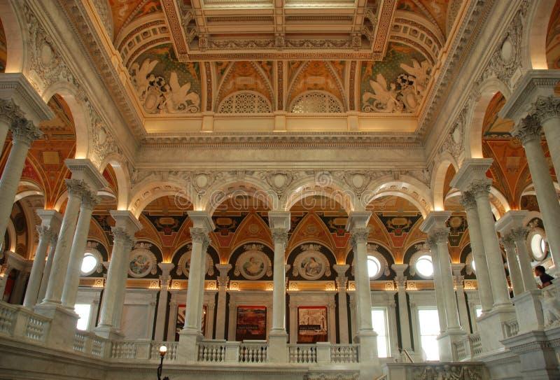 Biblioteca del Congresso immagine stock