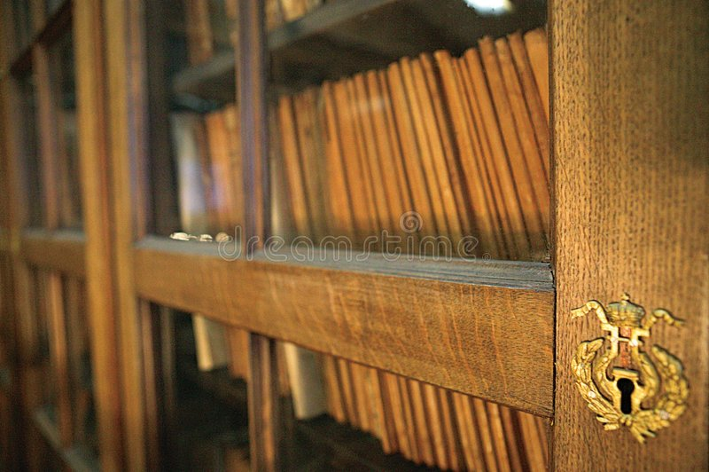 Biblioteca Del Teatro Imagen de archivo libre de regalías