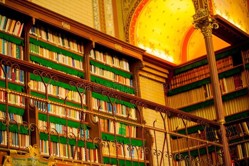 Biblioteca di Amsterdams immagini stock