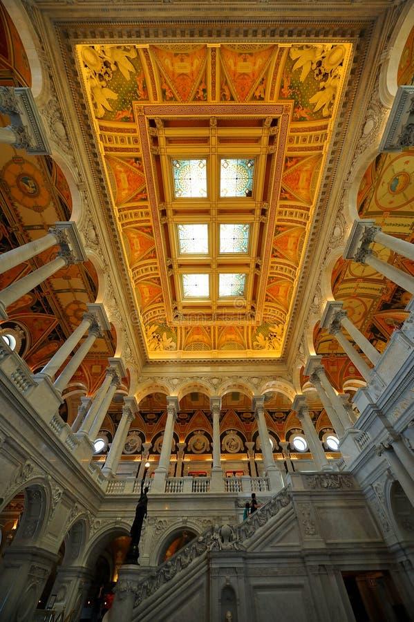 Biblioteca do Congresso, Washington, C.C. imagem de stock royalty free