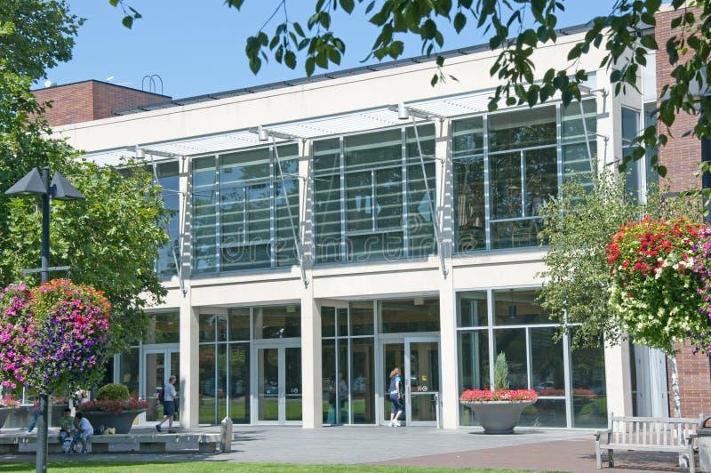 Biblioteca en Beaverton, Oregon imagen de archivo