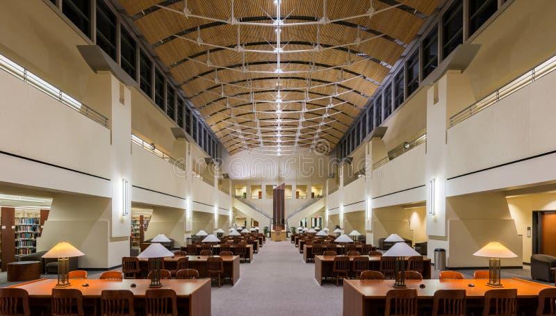 Biblioteca estadual da nuvem do St fotos de stock royalty free
