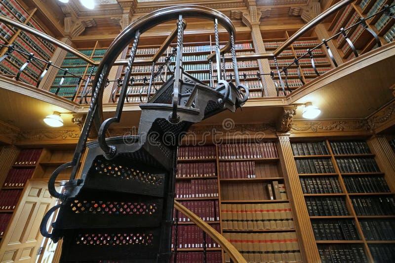 Biblioteca legale vittoriana fotografia stock libera da diritti