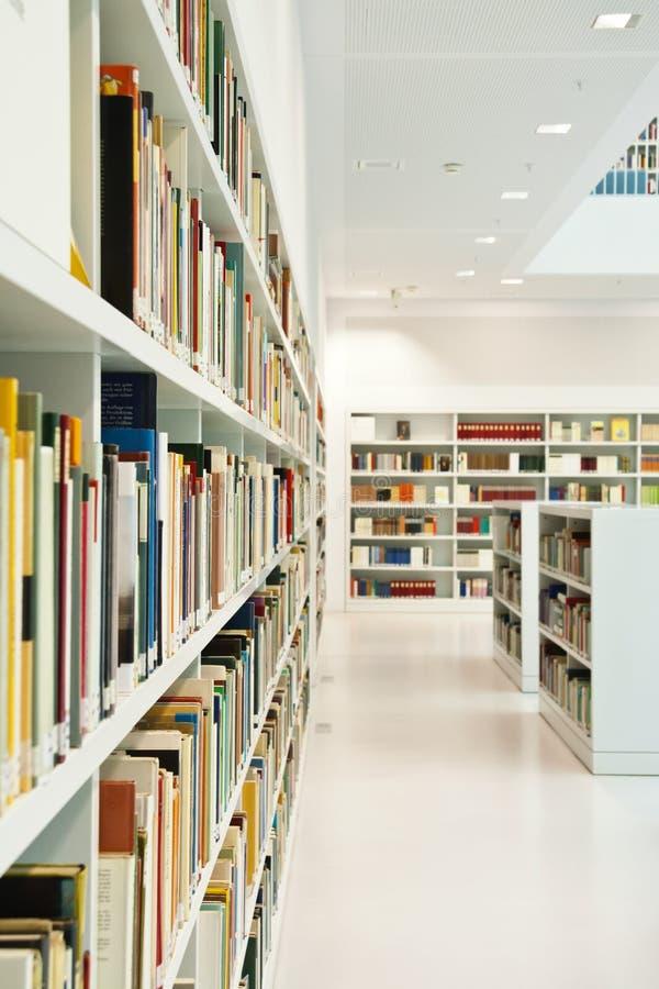 Biblioteca moderna foto de stock royalty free