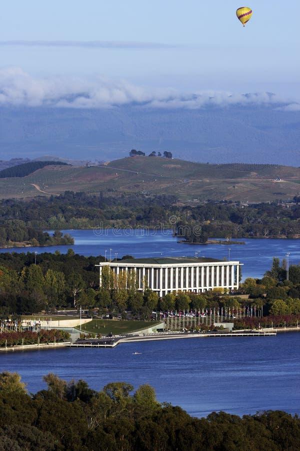 Biblioteca nacional de Austrália - Canberra fotografia de stock royalty free