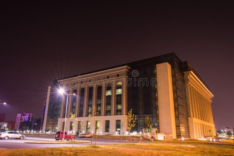 Biblioteca nacional de Romênia, Bucareste imagens de stock royalty free