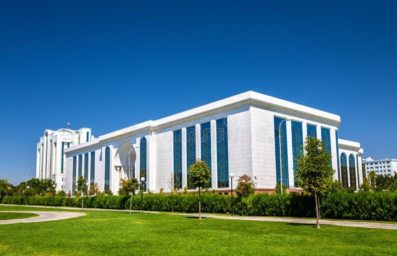 Biblioteca nacional de Uzbekistán en Tashkent imagen de archivo
