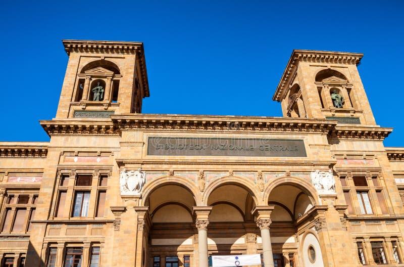 Biblioteca nazionale di Firenze, Italia immagini stock libere da diritti