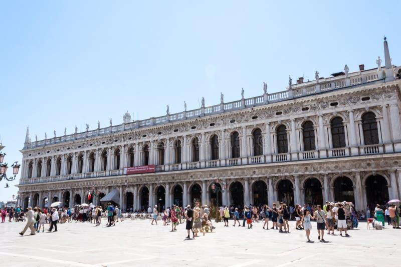 Biblioteca Nazionale Marciana 库存照片