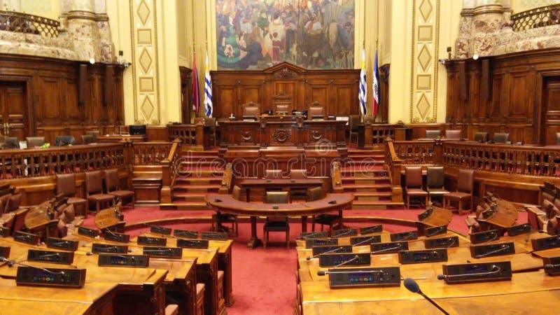 A biblioteca no palácio legislativo, Palacio Legislativo fotos de stock