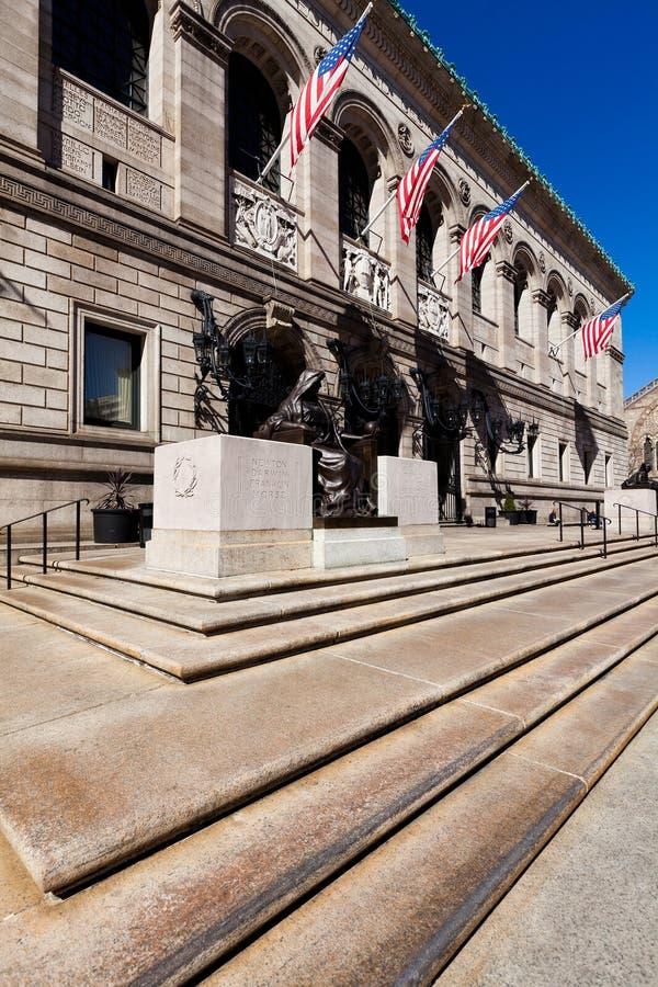 Biblioteca pública de Boston fotos de archivo