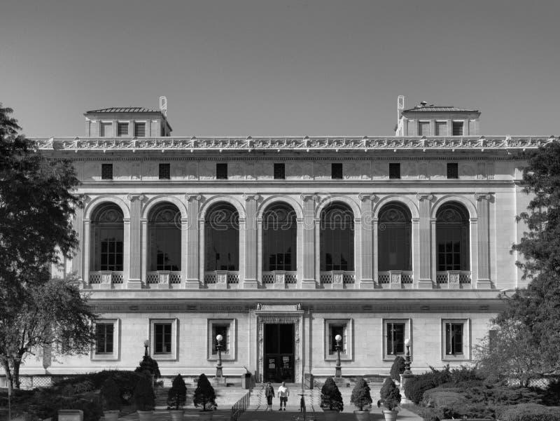 Biblioteca pública de Detroit imagens de stock royalty free