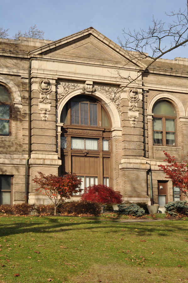 Biblioteca pública de Easton, Easton, Pennsylvania imagen de archivo