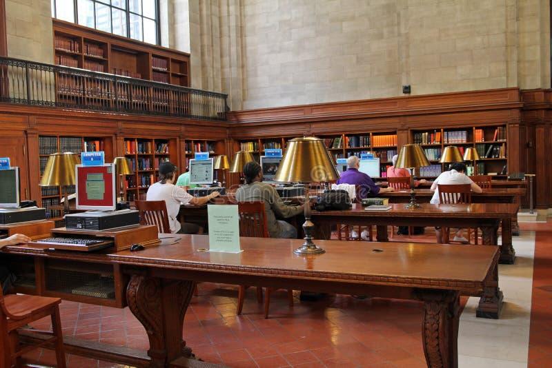 Biblioteca pública de New York fotos de stock royalty free