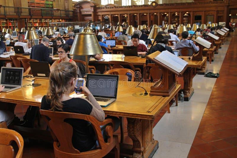 Biblioteca pública de New York foto de stock royalty free
