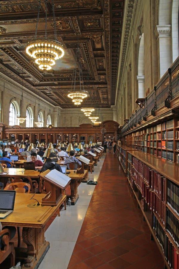 Biblioteca pública de New York imagem de stock
