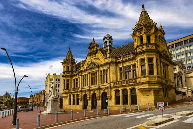Biblioteca pública, Port Elizabeth fotos de archivo libres de regalías