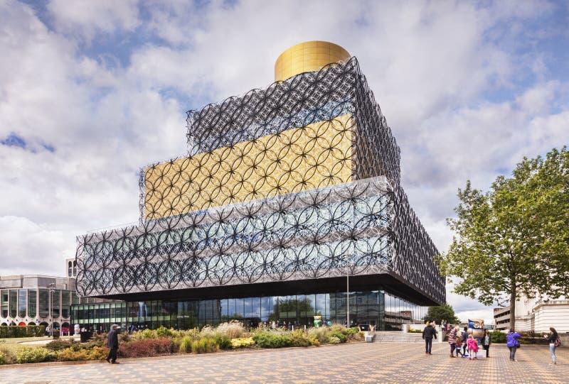 Biblioteca pubblica di Birmingham fotografia stock libera da diritti