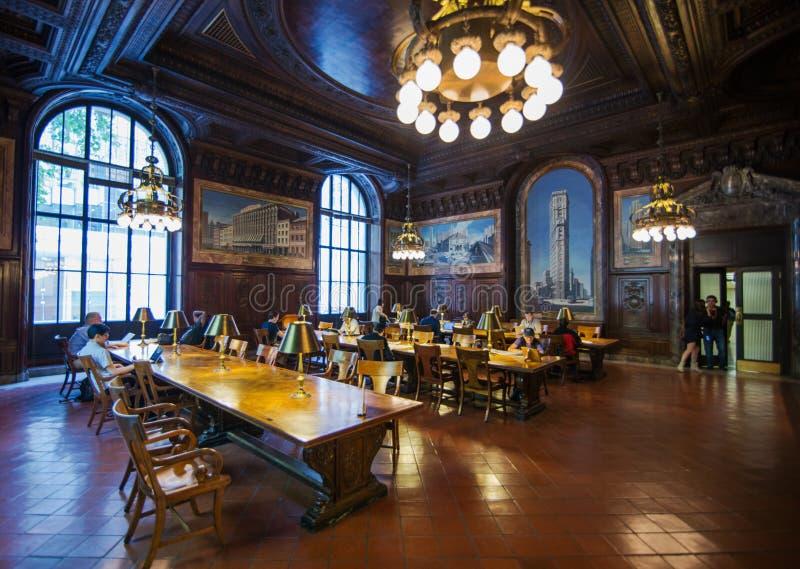Biblioteca pubblica di New York fotografia stock libera da diritti
