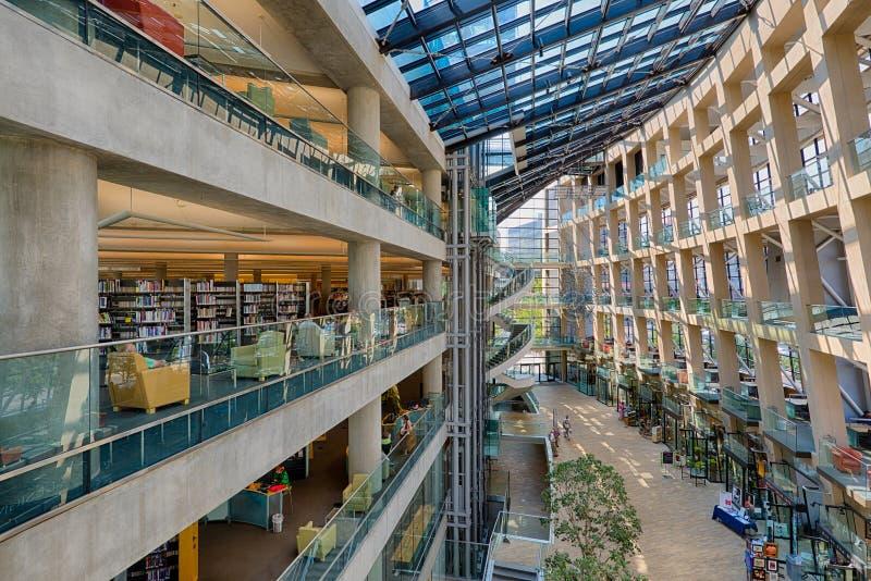 Biblioteca pubblica di Salt Lake City immagini stock libere da diritti