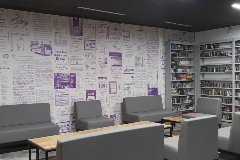 Biblioteca pubblica medellin biblioteca pública piloto giorno di apertura dicembre 2018 immagini stock