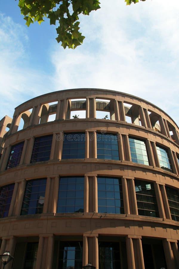 Biblioteca pubblica a Vancouver fotografia stock libera da diritti