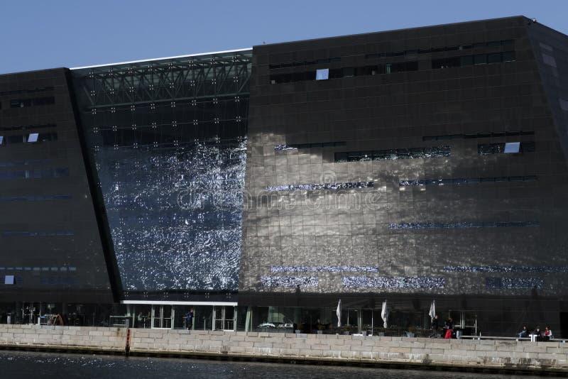 A biblioteca real em Copenhaga foto de stock royalty free