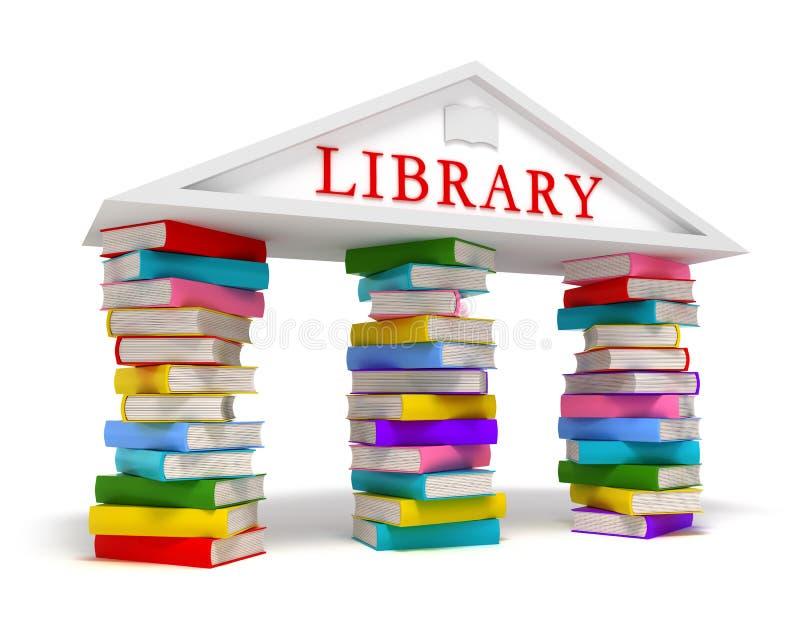 A biblioteca registra o ícone