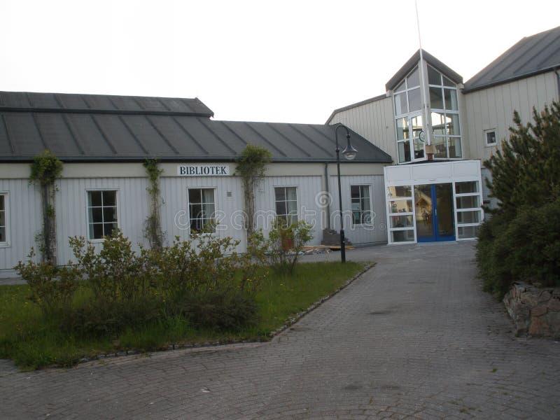 Biblioteca in Rorvik fotografie stock