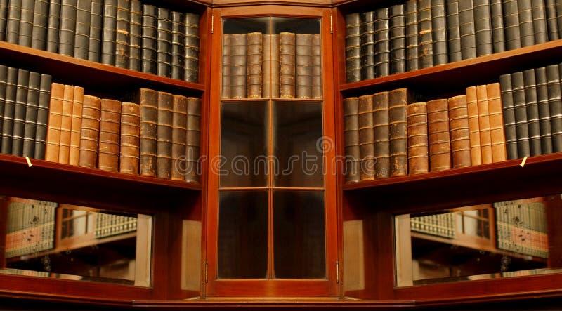 Biblioteca velha fotos de stock