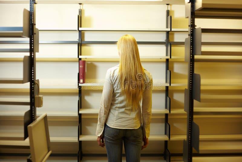 Bibliotecas vazias imagem de stock royalty free